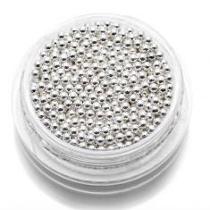 TNL, Бульонки металлические 1,5 мм (серебро) TNL Professional