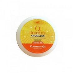 крем для лица и тела с коэнзим q10 deoproce natural skin coenzyme q10 nourishing cream