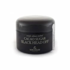 скраб для лица с сахаром и какао the skin house cacao sugar black head off
