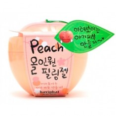 пилинг-скатка персиковая все-в-одном baviphat peach all-in-one peeling gel