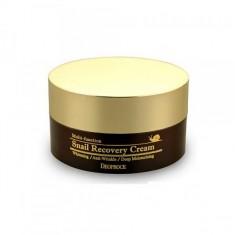 крем восстанавливающий с муцином улитки deoproce snail recovery cream
