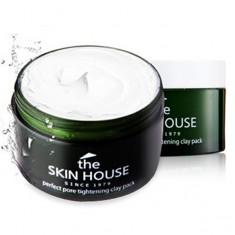 матирующая очищающая маска для жирной кожи the skin house pore tightening clay pack