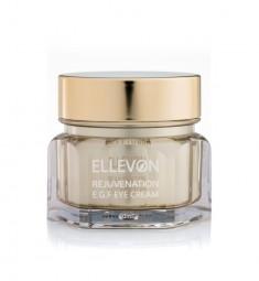 омолаживающий крем для глаз с e.g.f. ellevon rejuvenation e.g.f eye cream
