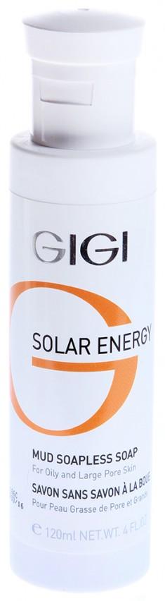 GIGI Мыло ихтиоловое / Mud Soapless Soap SOLAR ENERGY 120 мл