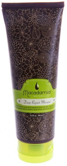 MACADAMIA NATURAL OIL Маска восстанавливающая интенсивного действия с маслом арганы и макадамии / Deep Repair Masque 100 мл