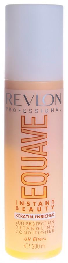 REVLON PROFESSIONAL Кондиционер несмываемый 2-х фазный для защиты от солнца / EQUAVE INSTANT BEAUTY SUN 200 мл