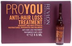 REVLON PROFESSIONAL Средство против выпадения волос / PROYOU ANTI-HAIR LOSS 12*6 мл