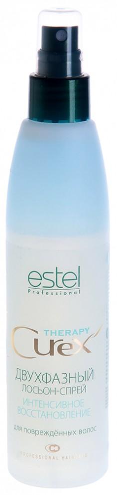 ESTEL PROFESSIONAL Лосьон-спрей двухфазный интенсивное восстановление / Curex Therapy 200 мл
