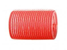 SIBEL Бигуди-липучки красные 43 мм 6 шт/уп