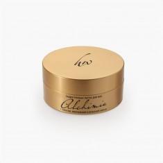 PREMIUM Патчи гидрогелевые с золотом, жемчужной и алмазной пылью для век / Alchimia Homework 60 шт