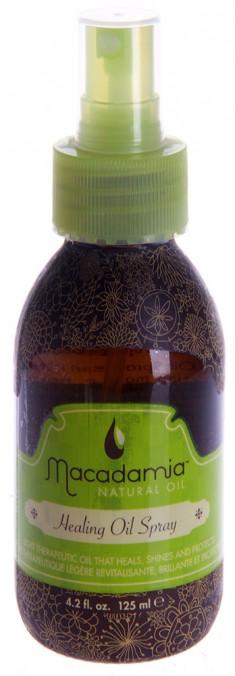MACADAMIA NATURAL OIL Уход восстанавливающий с маслом арганы и макадамии, спрей / Healing Oil Treatment 125 мл