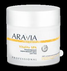 ARAVIA Крем увлажняющий укрепляющий / Organic Vitality SPA 300 мл
