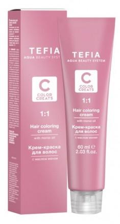 TEFIA 7.44 краска для волос, блондин медный интенсивный / Color Creats 60 мл