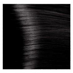 KAPOUS 4.18 крем-краска для волос / Hyaluronic acid 100 мл