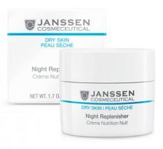 JANSSEN COSMETICS Крем питательный регенерирующий ночной / Night Replenisher DRY SKIN 50 мл