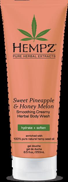 HEMPZ Гель для душа, ананас и медовая дыня / Sweet Pineapple & Honey Melon Herbal Body Wash 250 мл