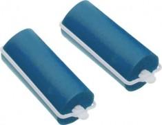 DEWAL BEAUTY Бигуди резиновые синие, d 16x70 мм 10 шт