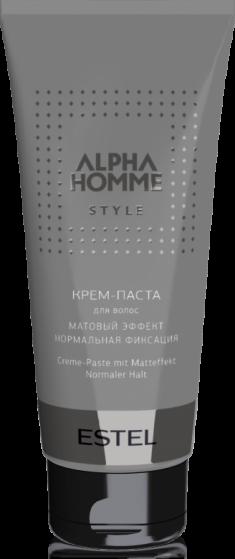 ESTEL PROFESSIONAL Крем-паста с матовым эффектом для волос, для мужчин / ALPHA HOMME 100 г
