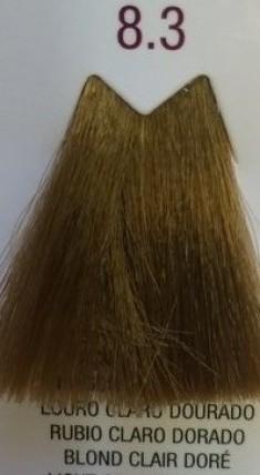 FARMAVITA 8.3 краска для волос, светлый блондин золотистый / LIFE COLOR PLUS 100 мл