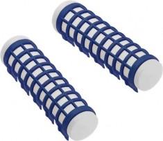DEWAL BEAUTY Бигуди термо синие, d 17 x 68 мм 6 шт