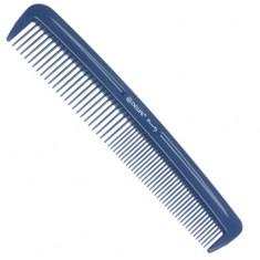 DEWAL BEAUTY Расческа карманная, синяя 12,4 см