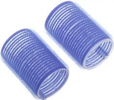 DEWAL PROFESSIONAL Бигуди-липучки синие d 78 мм 6 шт/уп