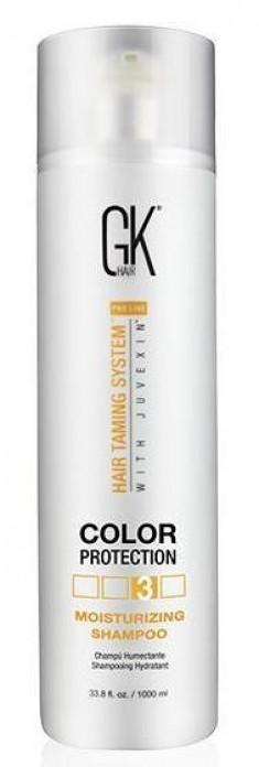 GKHAIR (GLOBAL КЕRATIN) Шампунь увлажняющий с защитой цвета волос / Moisturizing Shampoo Color Protection 1000 мл GKHair (Global Кеratin)