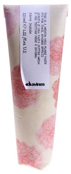 DAVINES SPA Паста пластичная для объемного невидимого стайлинга / MORE INSIDE 125 мл