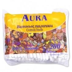 Ватные палочки Аура zip пакет N200 AURA