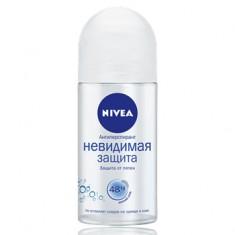 Нивея дезодорант ролик невидимая защита 50мл (82995) NIVEA