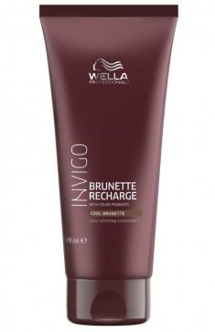 Wella Invigo Color Recharge Оттеночный бальзам-уход для холодных коричневых оттенков 200мл
