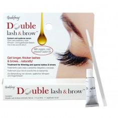 Godefroy Double Lash&Brow Organic Oil Масло-активатор роста бровей и ресниц натуральная формула