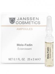 Янсен (Janssen) Осветляющие ампулы Мелафадин 7 шт по 2 мл