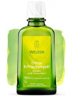 Веледа Цитрусовое освежающее масло 100 мл Weleda