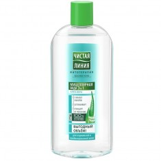 Чистая Линия Мицеллярная вода 3в1 для нормальной и комбинированной кожи 400мл ЧИСТАЯ ЛИНИЯ