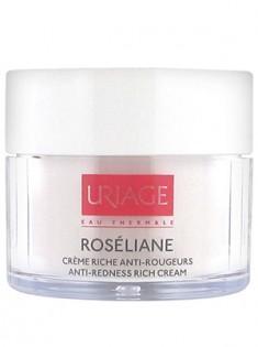 Uriage (Урьяж) Розельян Насыщенный крем против покраснений для гиперчувствительной кожи 40 мл