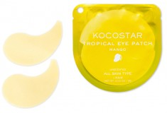 KOCOSTAR Патчи гидрогелевые для глаз Тропические фрукты, манго / Tropical Eye Patch Mango Single 2 патча