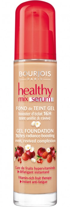 BOURJOIS Крем-сыворотка тональный для лица 51 / Healthy Mix Serum vanille clair