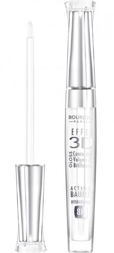 BOURJOIS Блеск для губ 18 / Effet 3D New transparent oniric