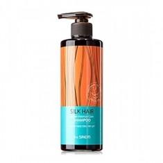 шампунь для волос с арганой the saem silk hair argan intense care shampoo