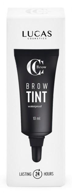 LUCAS' COSMETICS Тинт гелевый водостойкий для бровей, серо-коричневый / CC Brow Tint grey brown