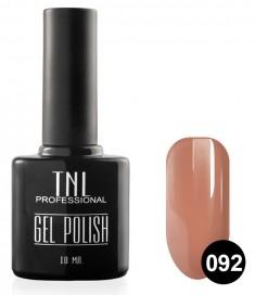 TNL PROFESSIONAL 092 гель-лак для ногтей, спелый персик 10 мл