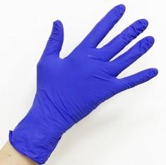SAFE & CARE Перчатки нитриловые фиолетовые S Safe & Care 100 шт ЧИСТОВЬЕ