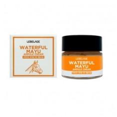 увлажняющий ампульный крем с лошадиным маслом lebelage ampule cream waterful mayu