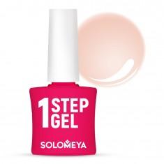 SOLOMEYA Гель-лак однофазный для ногтей, 3 персик / One Step Gel Peach 5 мл