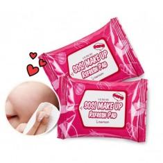 пады для снятия макияжа berrisom sos make up refresh pad