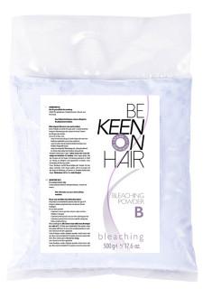KEEN Порошок блондирующий, голубой (в пакете) / BLEACHING POWDER 500 г