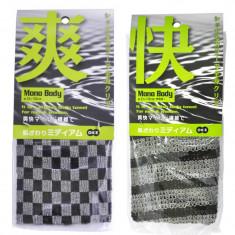мочалка для тела средней жесткости ohe corporation nylon towel medium