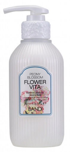 BANDI Лосьон для рук Пион / FLOWER VITA ESSENCE LOTION PEONY BLOSSOM 250 мл