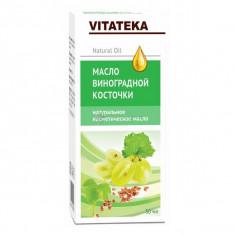 Витатека масло виноградных косточек косметическое с витаминно-антиоксидантным комплексом 30мл Vitateka